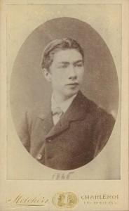 Adolphe II Drion du Chapois, en 1885.